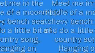 Blake Shelton Sure Be Cool If You Did Lyrics!