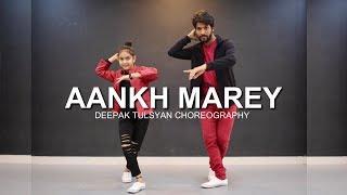 AANKH MAREY | SIMMBA | Ranveer Singh, Sara Ali khan | Deepak Tulsyan Choreography | Bollywood Dance