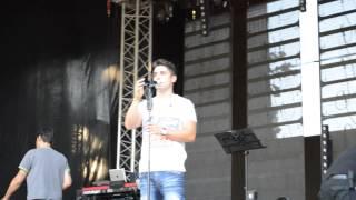 """Leandro nos ensaios em Canedo Música """"Não tenhas pena de mim"""" 19.08.2013"""