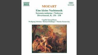 "Divertimento in D Major, K. 136 ""Salzburg Symphony No. 1"": III. Presto"