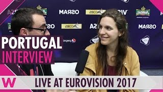 Luísa Sobral (Salvador's sister - Portugal) interview @ Eurovision 2017 | wiwibloggs