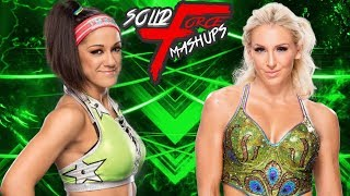 "WWE Mashup: Bayley and Charlotte - ""Turn Up The Recognition"""