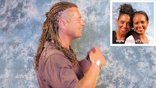 Volker: Man(n) trägt jetzt Zizi-Braids - Rastazöpfe mit gewellten Enden und Sidecut