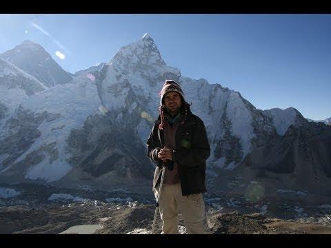 Summit of Kala Patthar, views of Everest, Ama Dablam, Nuptse and Pumori peaks