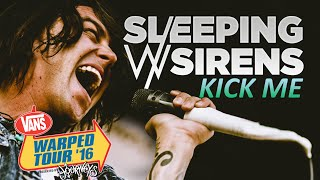 "Sleeping With Sirens - ""Kick Me"" LIVE! Vans Warped Tour 2016"