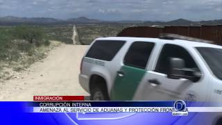 Amenaza al servicio de aduanas y protección fronteriza
