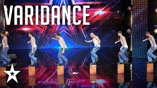 Varidance dance all the way to the semi-finals│Supertalent 2018│Auditions