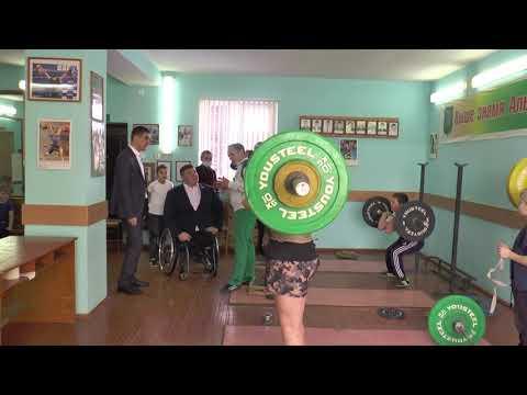 Рабочий визит паралимпийца Ирека Зарипова в Альшеевский район