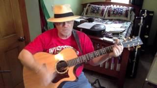 113b -  Gloria  - Them vocal & acoustic guitar cover & chords