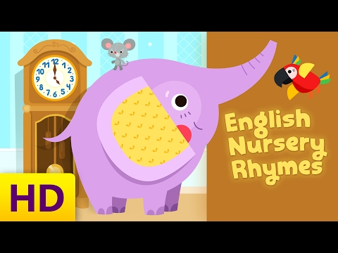Songs for Kids with Lyrics | English Nursery Rhymes Compilation | Hickory Dickory Dock and 3 more
