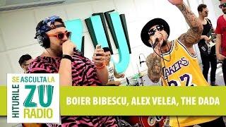 Boier Bibescu | Alex Velea | The dAdA - Undeva-n Balcani (Cover Puya - Live la Radio ZU)