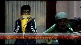 zambito cover en quena,charango y zampoña