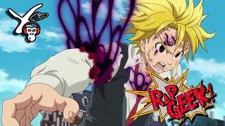 "RAP Anime #11 | Rap do Meliodas (Nanatsu no Taizai) ""Despertar da Fúria"" - Yuri Black"