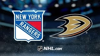 Getzlaf's four assists power Ducks past Rangers, 6-3