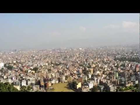 Kathmandu, Nepal Oct,2012 – The Swayambhunath complex