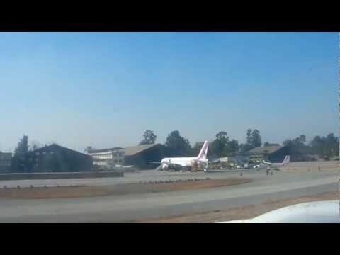 Landing Kathmandu via Thai Air
