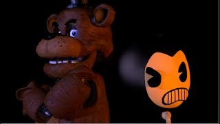 (SFM) Five nights at Freddy vs Bendy and the ink machine Rap (SHORT)
