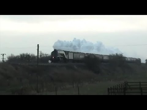 "60009 ""Union of South Africa"" – The Christmas White Rose – 01/12/2012"