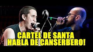 CARTEL DE SANTA HABLA DE LA MUERTE DE CANSERBERO | MUSICRAPHOOD