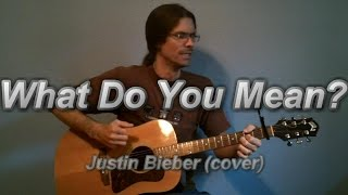 """""""What Do You Mean?"""" -- Justin Bieber cover"""