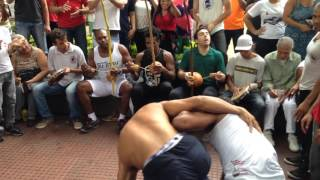Roda de capoeira na Praca da Republica 24.01.2016 parte 9