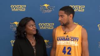 Interview with UMKC Guard Noah Knight