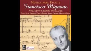 Francisco Mignone: Sonatina para fagote solo - III. Giga