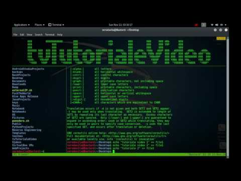 Tutoriale Video Busybox 21 despre tftp,time,timeout, top, touch, tr, traceroute si traceroute6