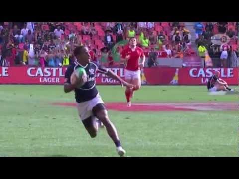 Carlin Isles 80m Try vs Wales