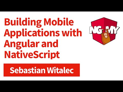 Building Mobile Apps with Angular and NativeScript