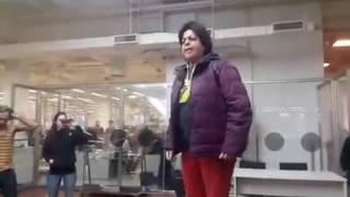 """""""QUE CIERREN LAS SALAS"""" Monica Cabrera en el Ministerio de Energia"""