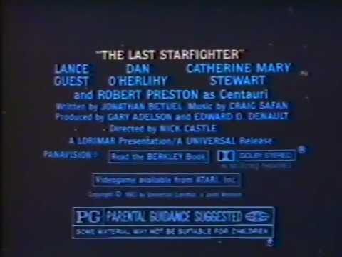 The Last Starfighter 1984 TV trailer