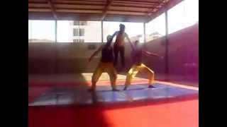 Ginástica na Escola Secundária Jorge Barbosa