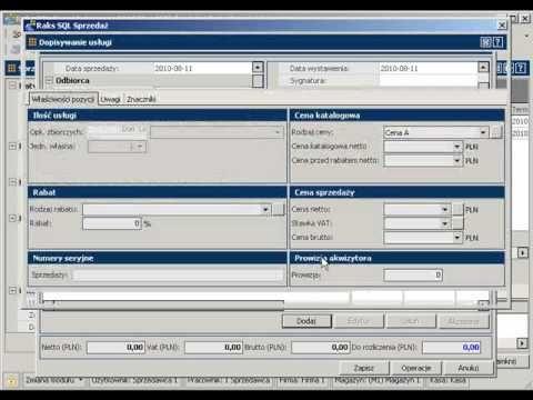 Limity zobowiązań w programie RAKSSQL