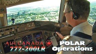 Air Canada 777 Cockpit Landing in Toronto