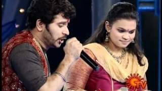 Sangeetha Maha Yudham Season2 Madhumitha Shankar Kathadipola song.wmv width=