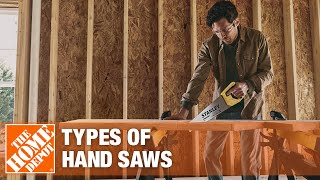 A video featuring different types of hand saws and their uses.