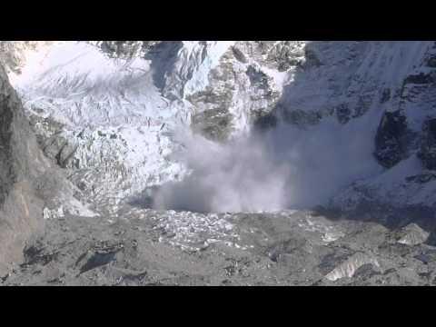 Avalanche on Nuptse