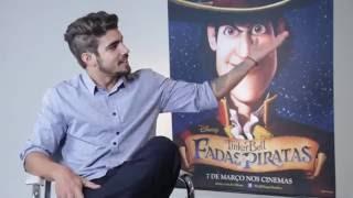TINKER BELL: FADAS E PIRATAS   Caio Castro fala sobre dublagem do animado – Cadê o Léo?