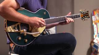 Gretsch Penguin Cadillac Green | CME Quick Riff | Nathaniel Murphy width=