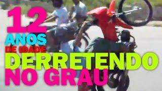Muleke de 12 anos derretendo a POP no GRAU = CaboEnrolado.com.br