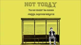 [ENG/TR] 방탄소년단 (BTS) - Not Today Color Coded Lyrics