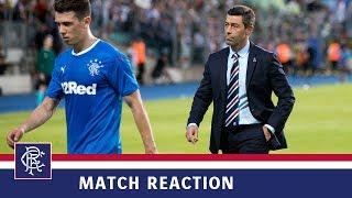 REACTION | Pedro Caixinha | Progrès Niederkorn 2-0 Rangers