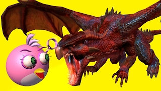 ANGRY BIRDS vs DRAGONS - Part2  ♫  3D animated  DRAGON mashup ☺ FunVideoTV - Style ;-))