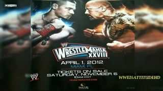 2012  WWE WrestleMania 28 Official Theme Song  Invincible  + Download Link HD   YouTube