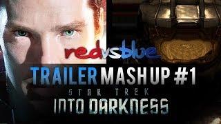 BATTLE TRAILER: Red vs Blue Project Freelancer - (Into Darkness | International) - HD [720p]