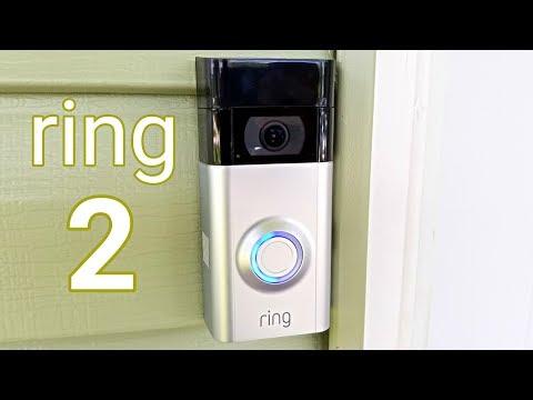 Z Wave Ring Video Doorbell 2