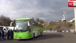 Polizei kontrolliert Reisebusse am Kirchheimer Dreieck