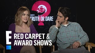 """Lucy Hale & Tyler Posey Dish on """"Truth or Dare"""" Sex Scene 