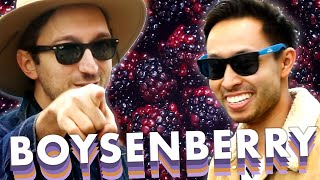 Ryan and Shane Eat Everything Boysenberry At Knott's Berry Farm width=